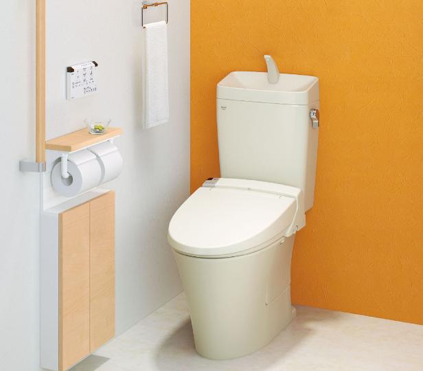 組み合わせ型のトイレ